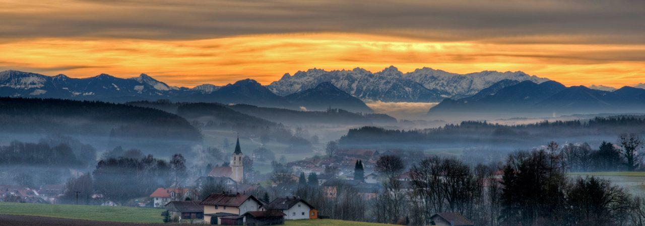 Morgenröte im Glonntal © Christopher Nolte